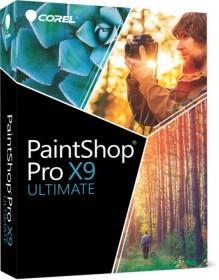 Corel PaintShop Pro X9 Ultimate (deutsch) (PC) (PSPX9ULDEMBEU)