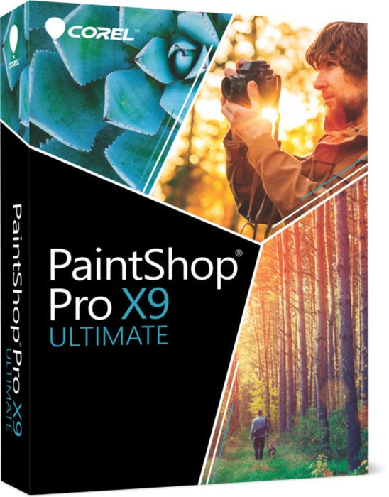 Corel: Corel PaintShop Pro X9 Ultimate (deutsch) (PC) (PSPX9ULDEMBEU)