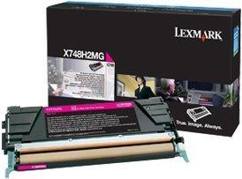 Lexmark Toner X748H2MG magenta high capacity