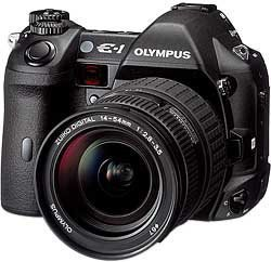 Olympus E-1 black (various bundles)