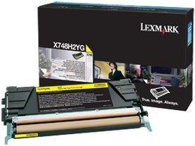Lexmark Toner X748H2YG yellow high capacity
