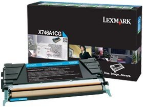 Lexmark Return Toner X746A1CG cyan