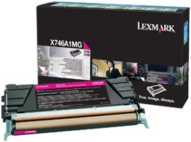 Lexmark Return Toner X746A1MG magenta