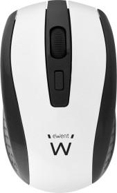 Ewent Wireless Optical Mouse 1600dpi weiß, USB (EW3236)