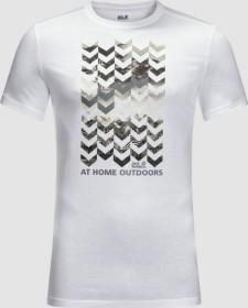 Jack Wolfskin Chevron Shirt kurzarm white rush (Herren) (1806991-5018)