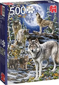 Jumbo Premium Collection - Wolf Pack in Winter (18845)