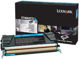 Lexmark Toner X746A2CG cyan