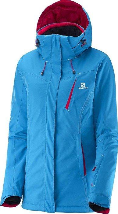Salomon Enduro ski jacket blue (ladies) | Skinflint Price