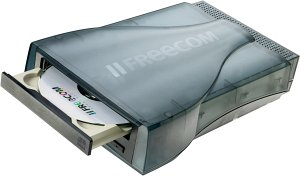 Freecom FX-5 CD-RW 52X/24X/52X external/USB 2.0 (20262)