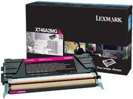 Lexmark Toner X746A2MG magenta