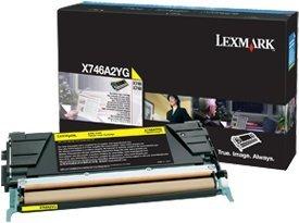Lexmark Toner X746A2YG gelb