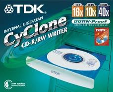 TDK CYC-A161040A CyClone retail