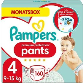 Pampers Premium Protection Pants Gr.4 Einwegwindel, 9-15kg, 160 Stück