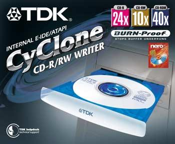 TDK CYC-A241040A CyClone retail
