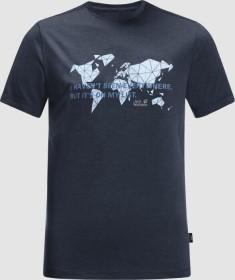 Jack Wolfskin JWP World Shirt kurzarm night blue (Herren) (1807241-1010)