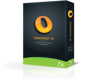 Nuance: OmniPage 18.0 Standard (English) (PC) (2889X-W00-18.0)