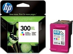 HP Druckkopf mit Tinte 300 XL dreifarbig 2er-Pack (D8J44AE)