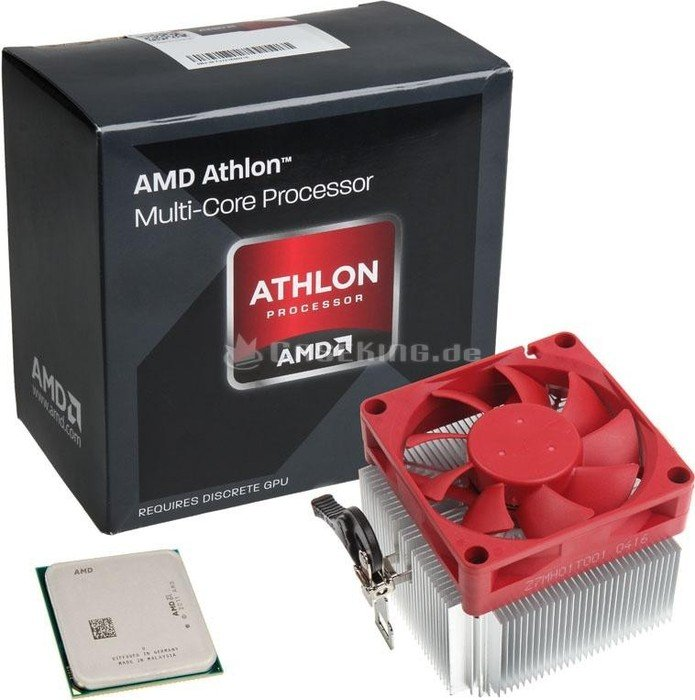 AMD Athlon X4 870K Black Edition, 4x 3.90GHz, boxed with low-noise-cooler (AD870KXBJCSBX)