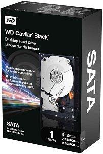 Western Digital WD Caviar Black 1TB, SATA 3Gb/s, retail (WDBAAZ0010HNC-ERSN)