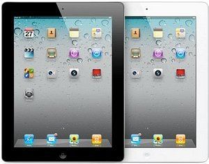 Apple iPad 2 Wi-Fi 64GB white (MC981FD/A)