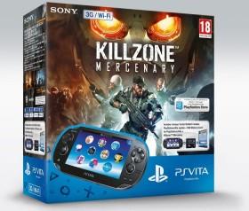 Sony PlayStation Vita Wi-Fi + 3G Killzone Mercenary Bundle schwarz