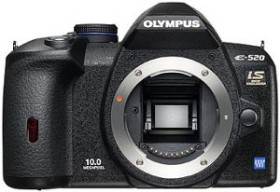 Olympus E-520 schwarz Body Nature Pro Kit (E0414177)