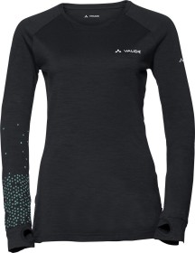 VauDe Base Shirt langarm schwarz (Damen) (41212-010)