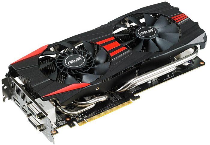 ASUS R9280-DC2T-3GD5 DirectCU II TOP, Radeon R9 280, 3GB GDDR5, 2x DVI, HDMI, DisplayPort (90YV0620-M0NA00)