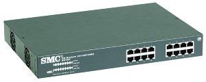 SMC EZ switch 10/100/1000, 16-portowy unmanaged (8516T)
