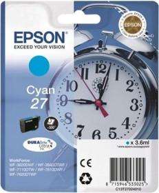 Epson Tinte 27 cyan (C13T27024010)