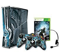 Microsoft Xbox 360 slim , Halo 4 Bundle, 320GB (Xbox 360) (S4K-00066)