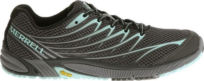 Merrell Bare Access Arc 4, Damen Laufschuhe, Schwarz (black/adventurine), 36 Eu