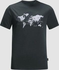 Jack Wolfskin JWP World Shirt kurzarm phantom (Herren) (1807241-6350)