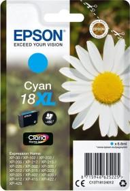Epson Tinte 18 XL cyan hohe Kapazität (C13T18124010)