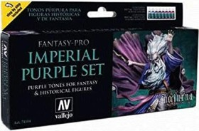 "Vallejo Model Color Fantasy-Pro ""Imperial Purple Set"" Farbset, 8-tlg. (74.104)"