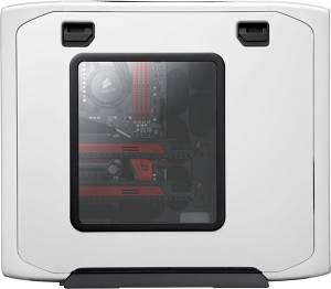 Corsair graphite Series 600T white with side panel window (CC600TWM-WHT)