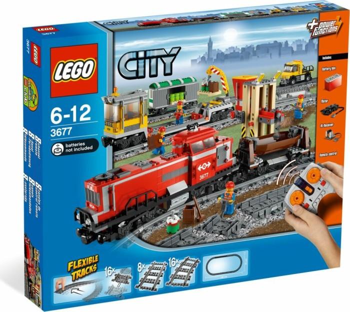 LEGO City Züge - Roter Güterzug (3677) -- via Amazon Partnerprogramm