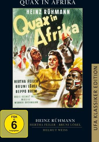 Quax in Afrika -- via Amazon Partnerprogramm