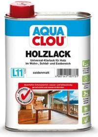 CLOU L11 Aqua CLOU Holzlack Holzschutzmittel farblos seidenmatt, 250ml