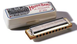 Hohner Marine Band Classic Harmonica F-major (M1896066)