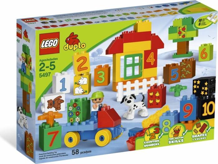 LEGO DUPLO Lernen mit Steinen - Zahlen-Lernspiel (5497) -- via Amazon Partnerprogramm