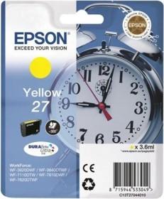 Epson Tinte 27 gelb (C13T27044010)