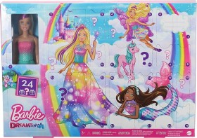Mattel Barbie Dreamtopia Fairytale Adventskalender (GJB72)