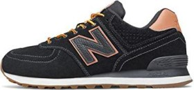 New Balance 574 schwarz/orange (Herren) (ML574XAB)
