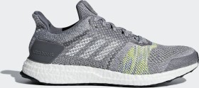 adidas Ultra Boost ST grey two/grey five/solar slime (Herren) (CQ2147)