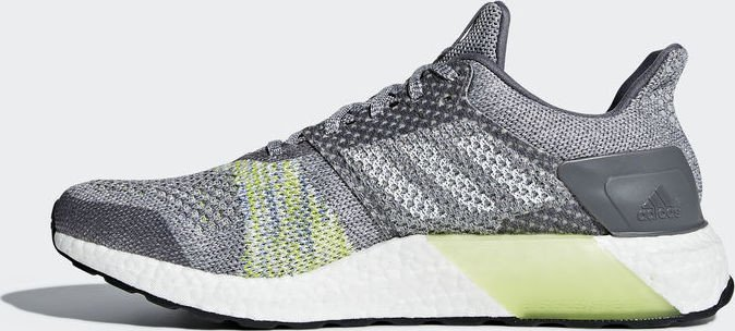 87ac9c236 adidas Ultra Boost ST grey two grey five solar slime (men) (CQ2147)  starting from £ 102.82 (2019)