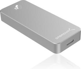 Sabrent Rocket Nano External Aluminium SSD 512GB, USB-C 3.1 (SB-512-NANO)