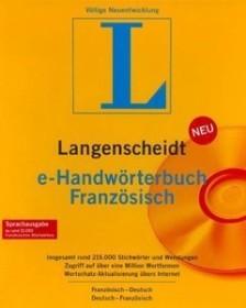 Langenscheidt e-Handwörterbuch Deutsch/Französisch 4.0 (deutsch) (PC) (LA90991)