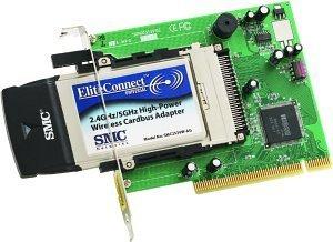 SMC EliteConnect, PCI (SMC2512W-AG)
