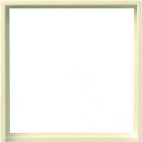 Gira Adapterrahmen mit quadratischem Ausschnitt 50x50mm, cremeweiß glänzend (0282 01)